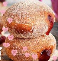 Hot Jam Donuts